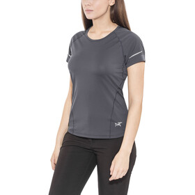 Arc'teryx W's Motus Crew SS Shirt black sapphire